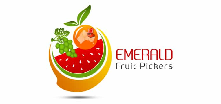 Logo Designed for emerald fruit pickers australia