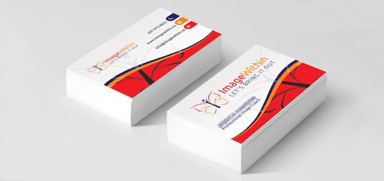 Business-Card Designed for Image within canada